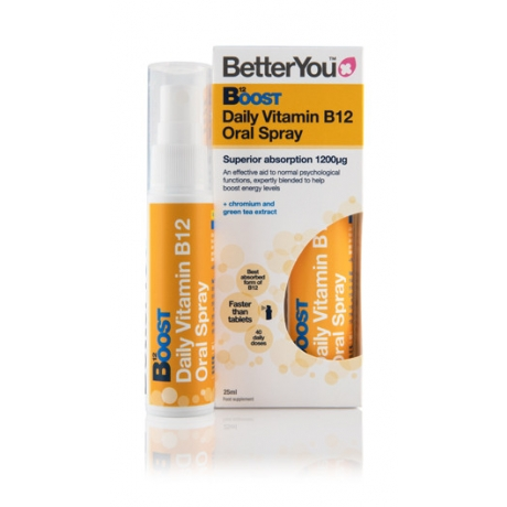 B12 Boost spreivitamiin, 25 ml