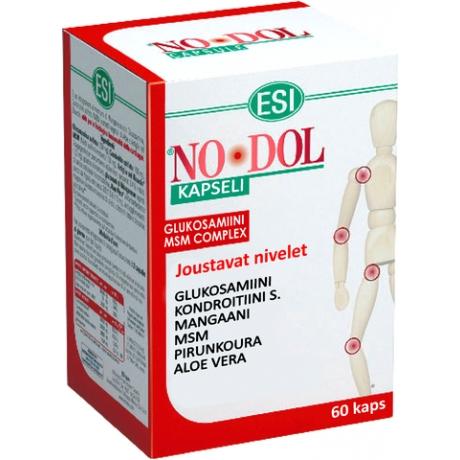 NO DOL Glükoosamiin-Devil's Claw-MSM kapslid, 60 tk