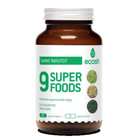 9-Superfoods – SuperGreen