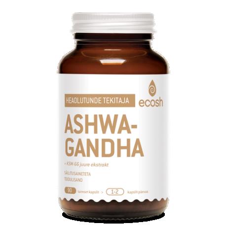 Ashwagandha kapslid, 90 tk