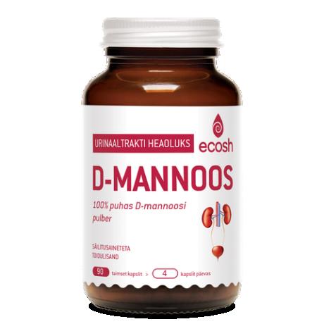 D-mannoos, 90 tk