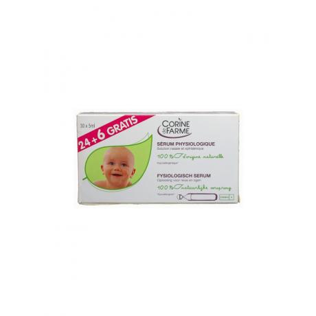 Füsioloogiline puhastuslahus Corine de Farme, 5 ml N30
