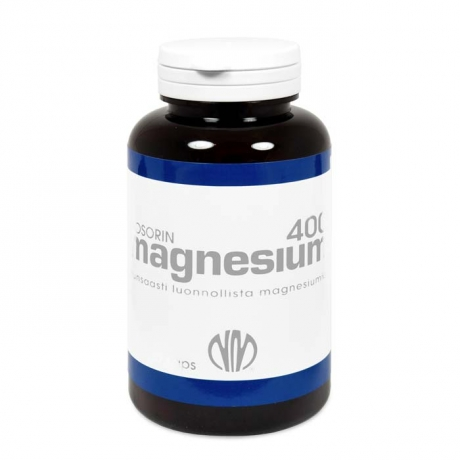Biosorin Magneesium 400 mg, 120 tk
