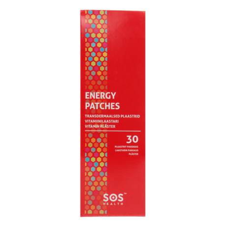 Energy patches, 30 pcs