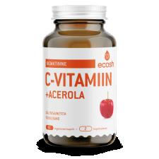 Bioaktiivne C-vitamiin Acerolaga, 90 kaps