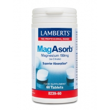 Lamberts MagAsorb magneesiumi tabletid 150 mg