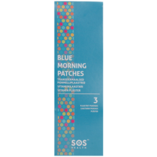 BLUE MORNING PATCHES, 3 pcs